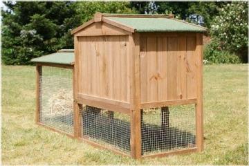 Kaninchenstall XL – Hasenstall XL für draußen