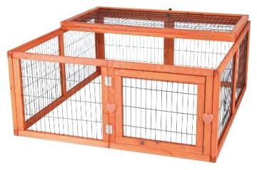 Trixie Hasen & Kaninchen Freigehege, 116 × 48 × 109 cm Freilauf